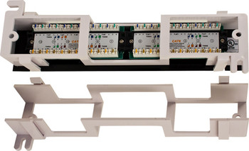 CAT6 12 Port-Mini Wall Mount Patch Panel