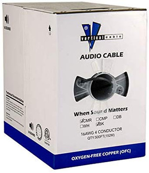 16 AWG 4C Non-shield Audio Cable 500ft