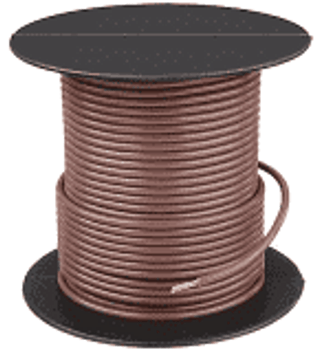 Stranded Copper Wire - 18 AWG - 25' - BROWN