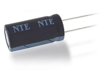 NTE Electronics .22UF 50V Electrolytic Capacitor