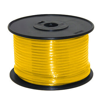14AWG Stranded Copper Wire Yellow 100ft
