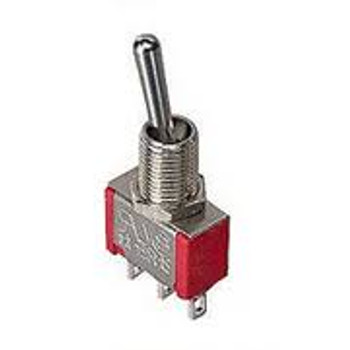 SPDT, ON-ON, Sub-Miniature Toggle Switch