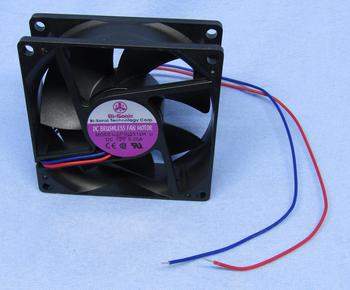 Square Cooling Fan, 80mm/12V