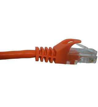 Vertical Cable 092-583/1OR 1ft Cat 5e Patch Cable - ORANGE