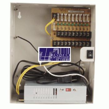9-Camera 12V DC Power Distribution Box