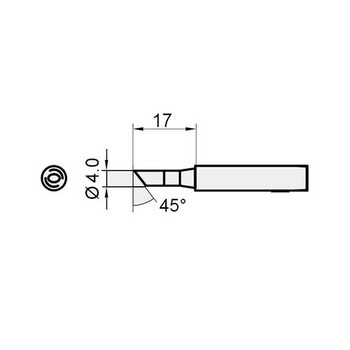 Replacement Tip for SS206E & SS207E C Type
