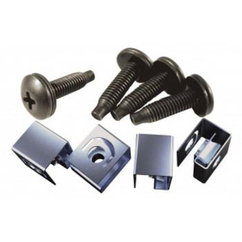 10-32 Rack Screw / Cage Nut Kit 100 pcs