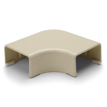 """Elbow Cover, 1-3/4"""", 1"""" Bend Radius, PVC, Ivory"""