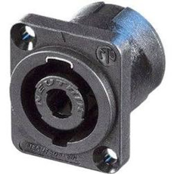 4-Pole Speaker Connector D-flange