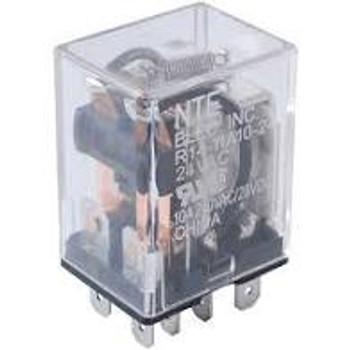 Power Relay, SPDT, 12 VDC, 15 A, R14 Series, Socket