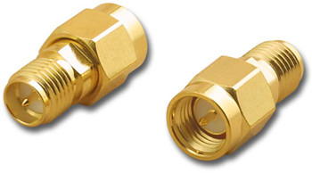 Adapter, SMA Reverse Jack to SMA Plug