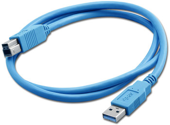 USB 3.0 A To B 3 Ft Cable