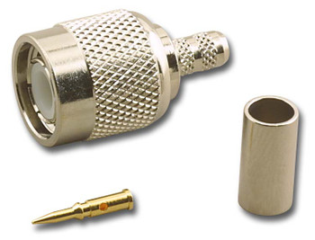 3-Piece Crimp Plug for RG-58/U