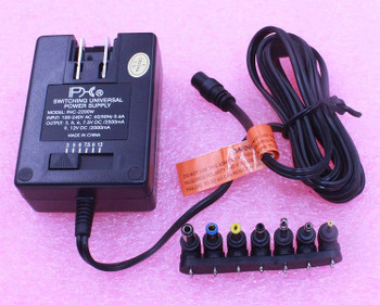 3-12V DC Selectable Universal Regulated AC / DC Power Supply
