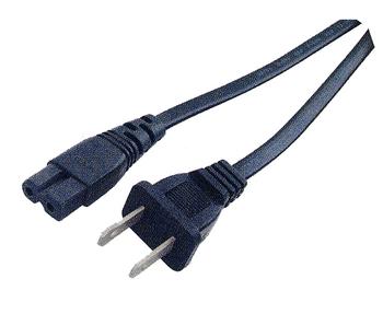 C7 Polarized AC Power Cord - 6 ft.-UL