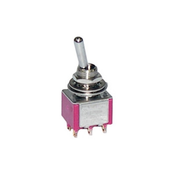 DPDT (ON)-OFF-(ON) Miniature Toggle Switch