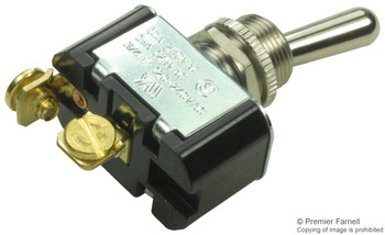 SPST, ON-OFF, 15A Toggle Switch