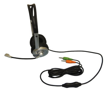 Multimedia Stereo Headset with Microphone