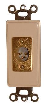 3-Pin XLR Male Decora Instert - White