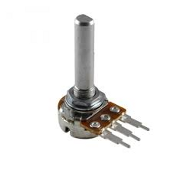 Philmore PC73 16mm 5K ohms Linear Taper Without Switch Potentiometer