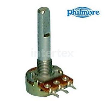 Philmore Mfg PHIPC77 16mm 500K ohms Potentiometer