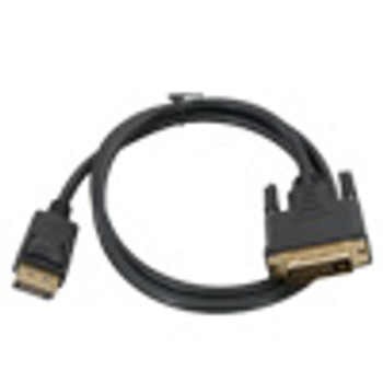 6' DVI-D Male to DisplayPort Male Cable
