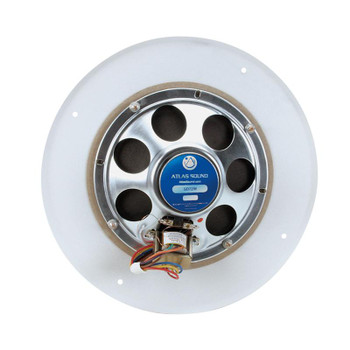 "Atlas Sound SD72W 8"" 5-Watt Dual Cone In-Ceiling Speaker 25V/70V"