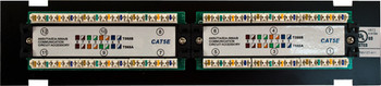 CAT5E 12 Port-Mini Wall Mount Patch Panel