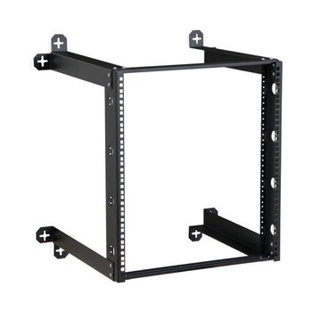 "12U V-Line Wall Mount Rack - 18"" Depth"