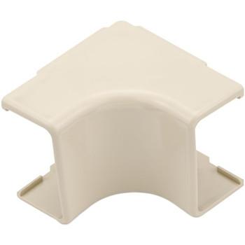 "Internal Corner Cover, 1-3/4"", 1"" Bend Radius, PVC, Ivory"