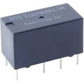 Electromechanical Relay 12VDC 960Ohm 2A DPDT (20x10.11x11)mm THT Single Contact PC Mountable Relay