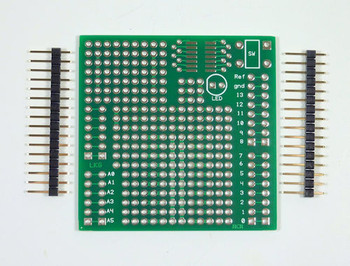 Protoboard Shield For Arduino Uno, FR-4 Fiberglass Substrate