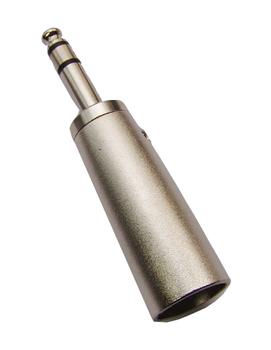 XLR to 1/4 in. Phono Adaptor Male