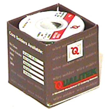 Qualitek Rosin Core (RA300) Wire Solder 1 lb.