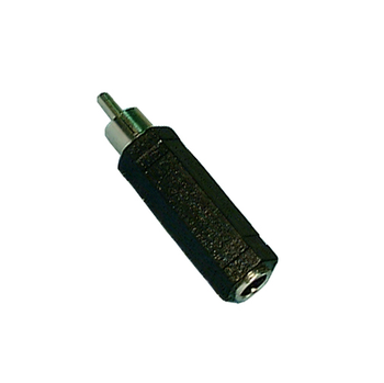 1/4-in Mono Jack to RCA Plug Adaptor