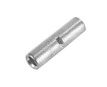 12-10AWG Non-Insulated Seamless Butt Connectors, 5/pkg.