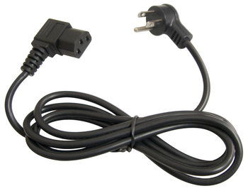 3' Right Angle AC Power Cord