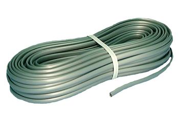 Telephone Flat Line Cord 100ft