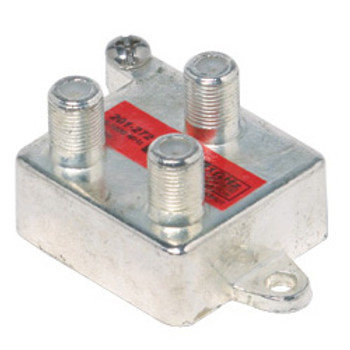 2-Way 1 GHz 130 dB Vertical Splitter 5-1000 MHz Port to Port Isolation 27 dB Min