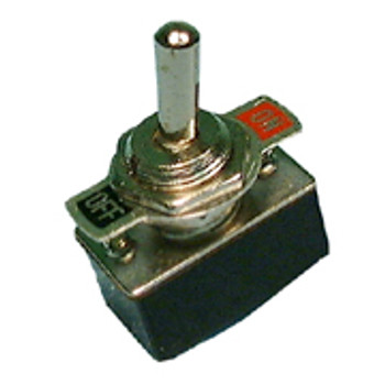 SPST, ON-OFF, Standard Size Bat Handle Toggle Switch