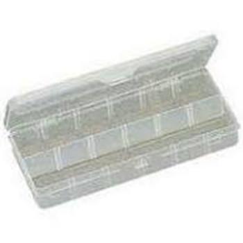 Plastic Box w/Dividers 10 X4.75 X 1.5