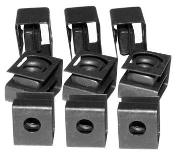 10-32 Rack Rail Clip Nuts, 25/pkg.