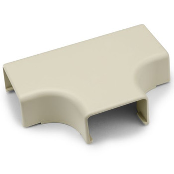 "Tee Cover, 1-3/4"", 1"" Bend Radius, PVC, Ivory"