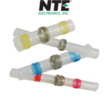 12-10 AWG Heat Shrink Insulated Solder Butt Connectors