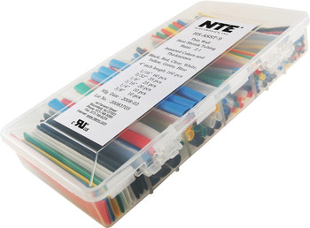 HS-ASST-9 Heat Shrink Multi Kit - Thin Wall 2:1 Multi Colors