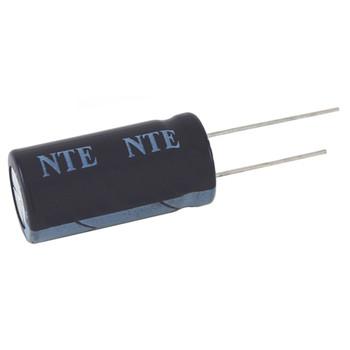 NTE Electronics VHT100M25 100uf 25v Electrolytic Capacitor