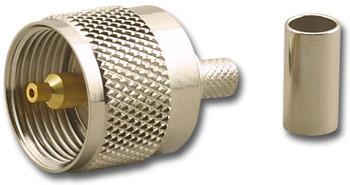 UHF Crimp Plug RG-58