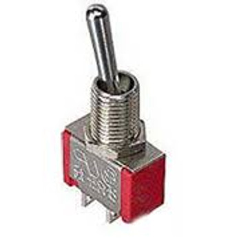 SPST 5a Miniature Toggle Switch On-Off