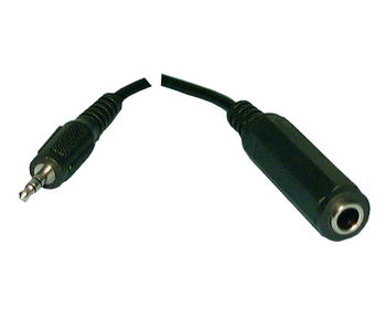 3.5mm Stereo/M - 1/4 in. Stereo/F