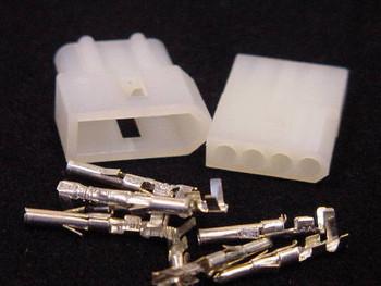 4 Pin Male/Female Pair .062 Pins 5A